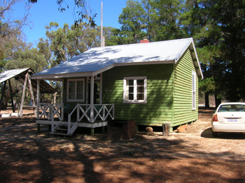 wood cutter's cabin