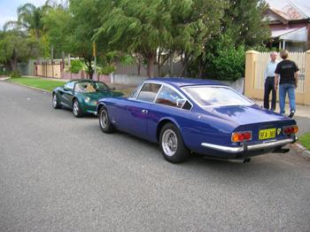 Ferrari and Lotus