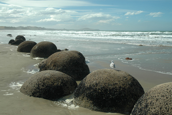 moearaki boulders