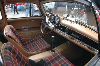 gullwing interior