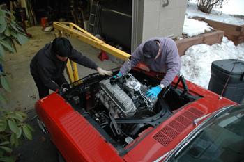 Mustang Installation