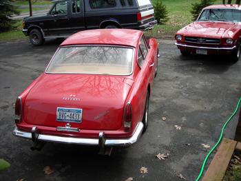 Ferrari and Mustang