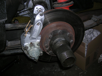 brakes after