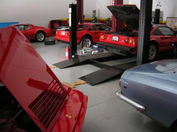 V-8 Ferraris