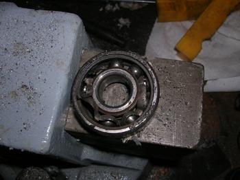 trashed bearing