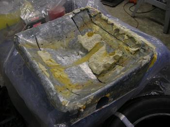 Seat pans
