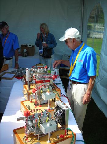 Bay Area engine modelers
