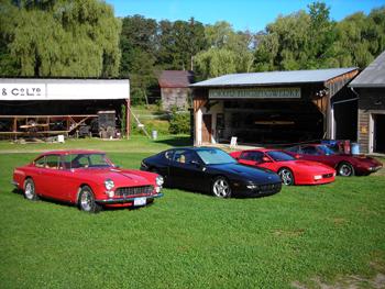 Ferraris at Rhinebeck