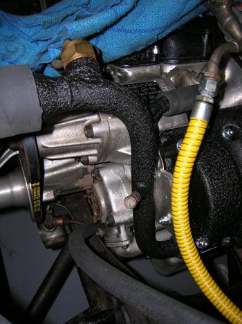 coolant pipe