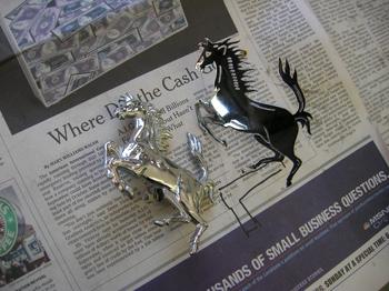 Two cavallinos