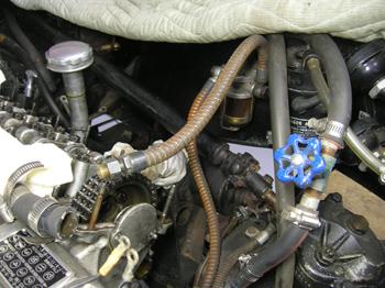 old heater valve
