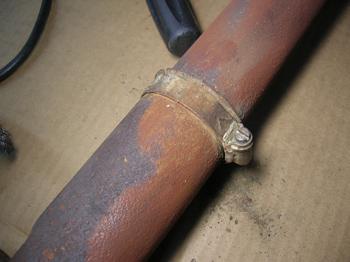 Hose clamp?