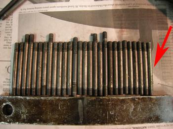 valve cover studs