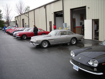 Vintage Ferraris