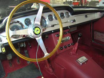 GTE interior