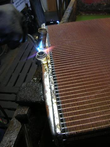 soldering lower fittings