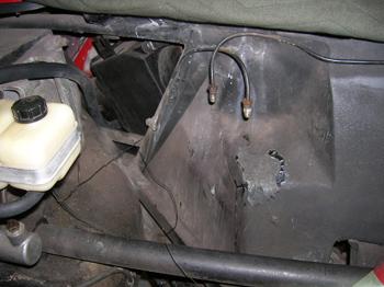 brake fluid damage