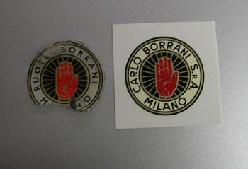 borrani Stickers