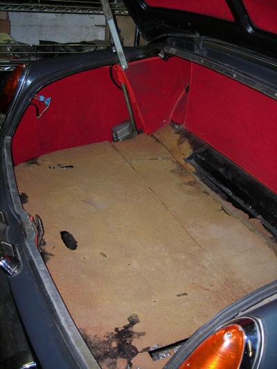 trunk foam