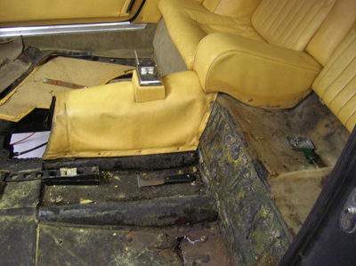 interior tear out