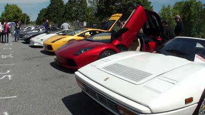 Ferraris and Lambos