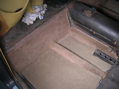 rear carpet sections
