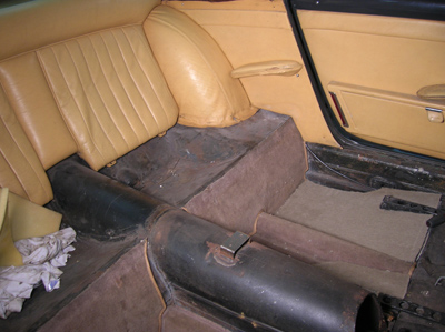 rear seat sections