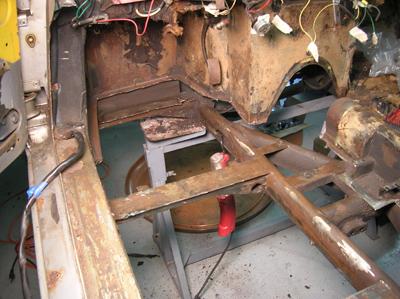 GTS floorpan