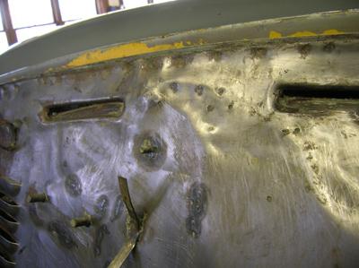 crude metal work