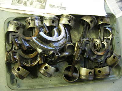 rods and pistons