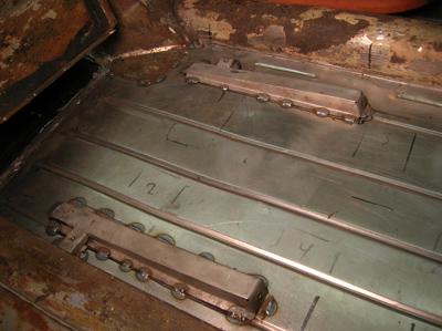 seat rails