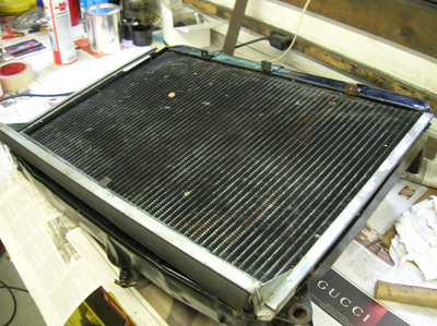 radiator blind