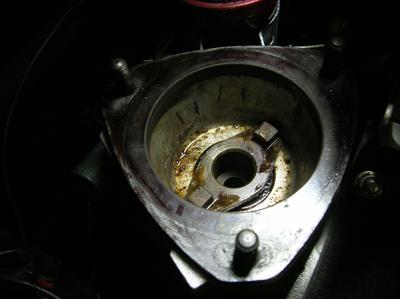 angle drive leak