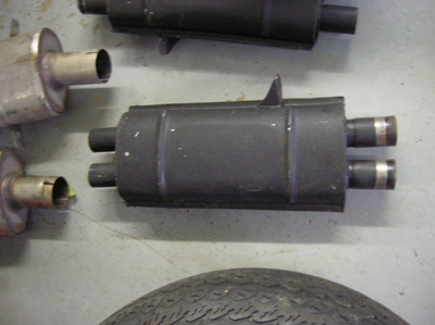 rear muffler