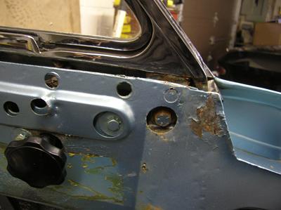 inner door panel