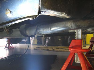 exhaust leak