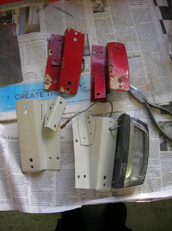 fabricated brakets