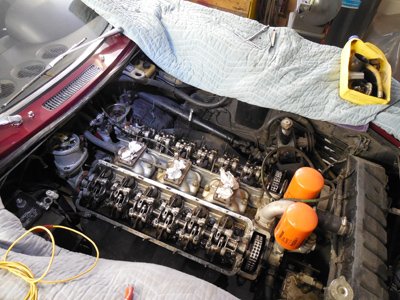 valve adjustmet