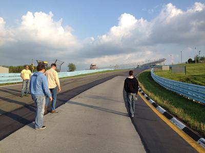 track walk