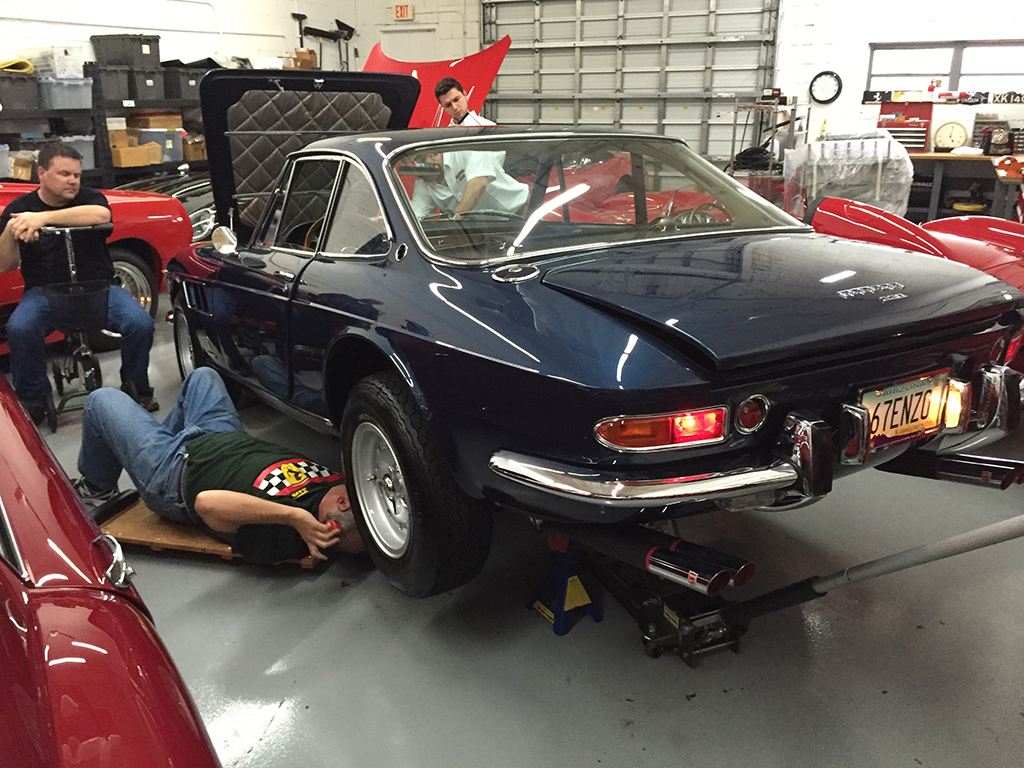 Cavallino 2016 Tom Yang 39 S Ferrari Restoration